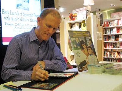 Matthew Harrison book signing Benjamin Bunce