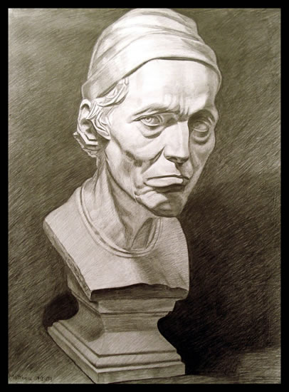 Bust of Old Man