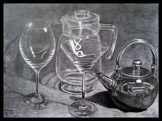 Glassware and Kettle